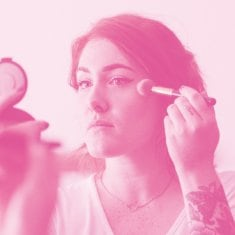 Make up viso