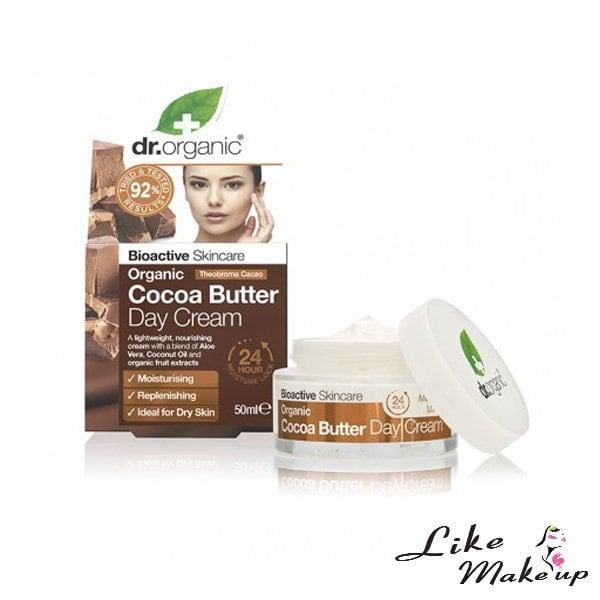 Crema Viso Giorno Organic Cocoa Butter Dr. Organic