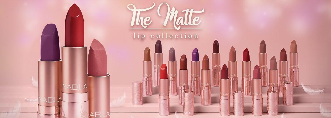 The Matte Lip Collection by Nabla Cosmetic: novità 2019