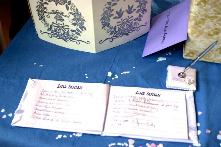 Diario di una promessa sposa: la lista degli invitati