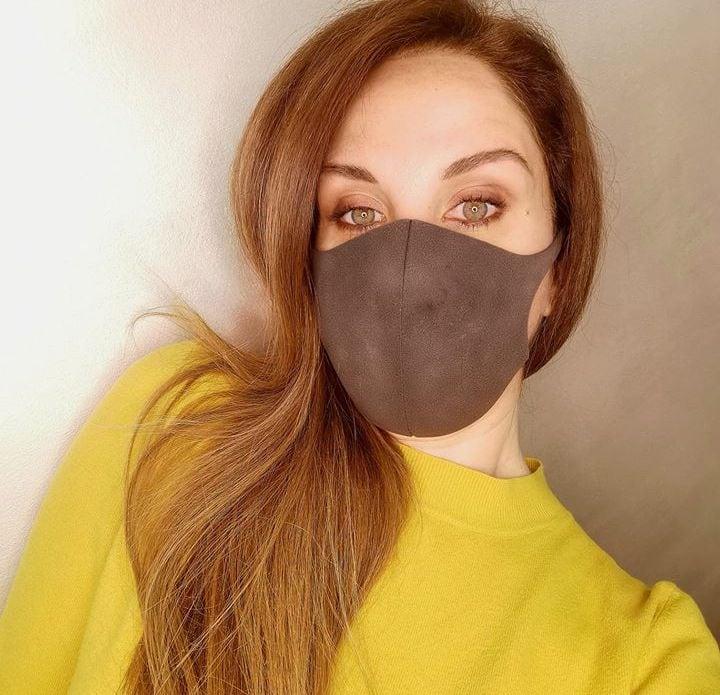 Floriana Villano makeup mascherina Covid-19